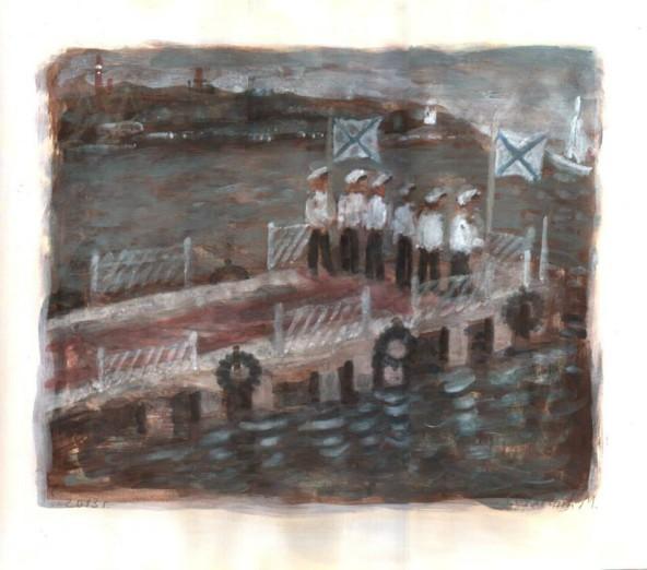 моряки_на_пирсе
