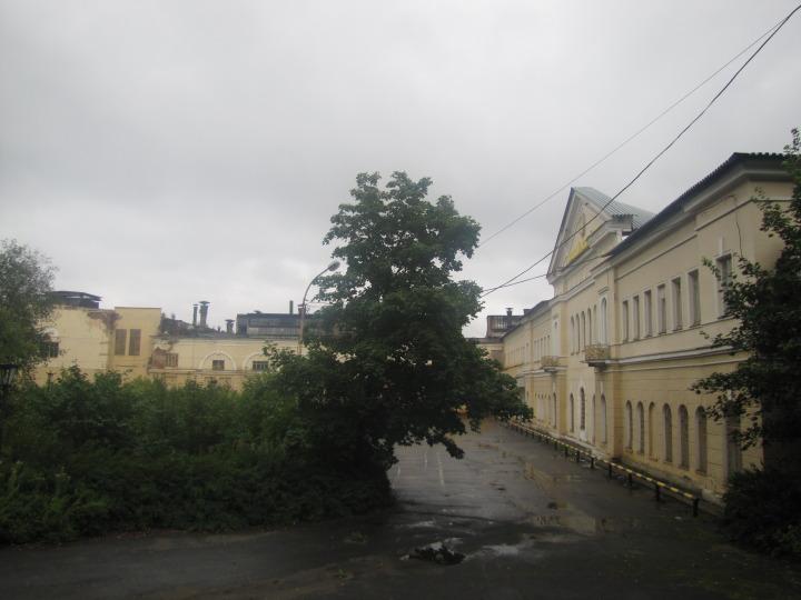 Петрозаводск, проходная завода