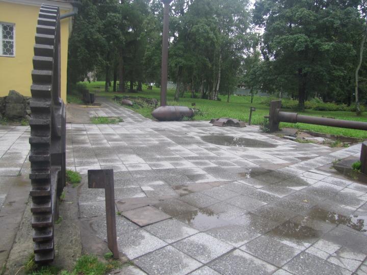Петрозаводск, техника за домом Гаскойна