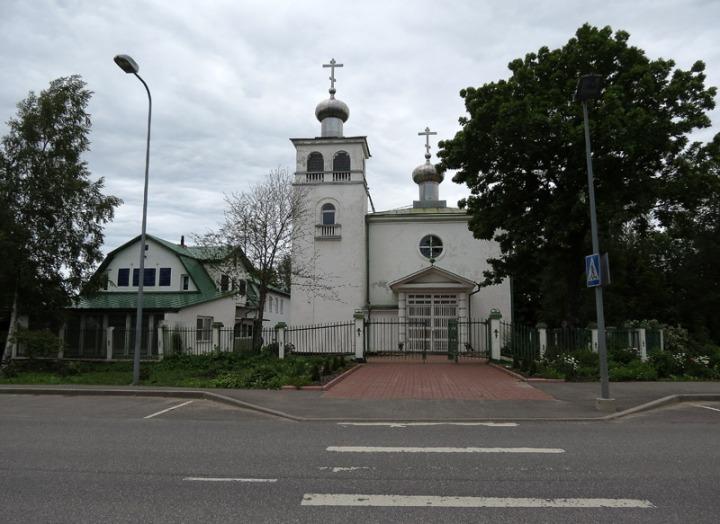 10. Преображенская церковь в Кохтла-Ярве