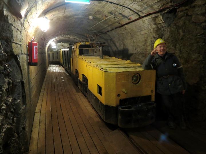 11. В сланцевой шахте Кохтла-Нымме