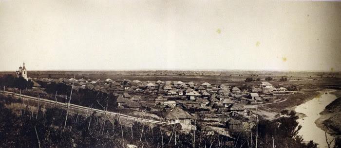 19 Кумшацкая станица, общий вид. 1875-1876