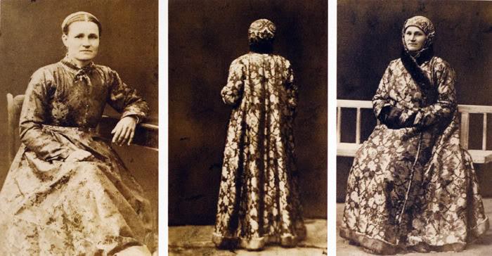 24 Казачка в донской шубе. 1875-1876
