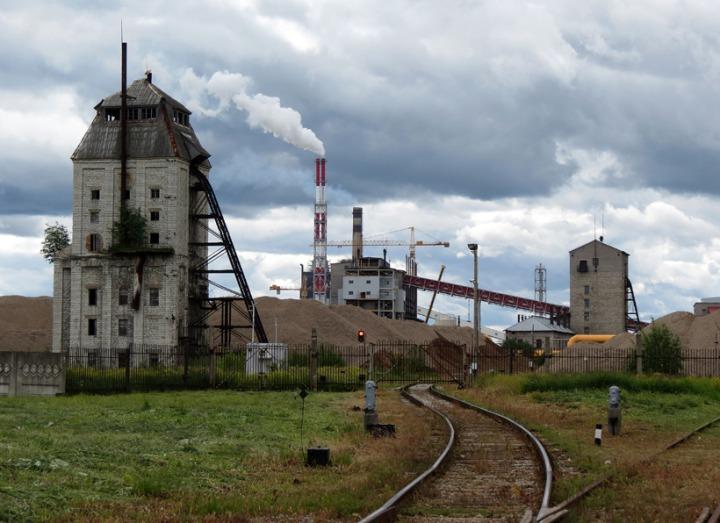 9. Сланцевый завод в Кохтла-Ярве