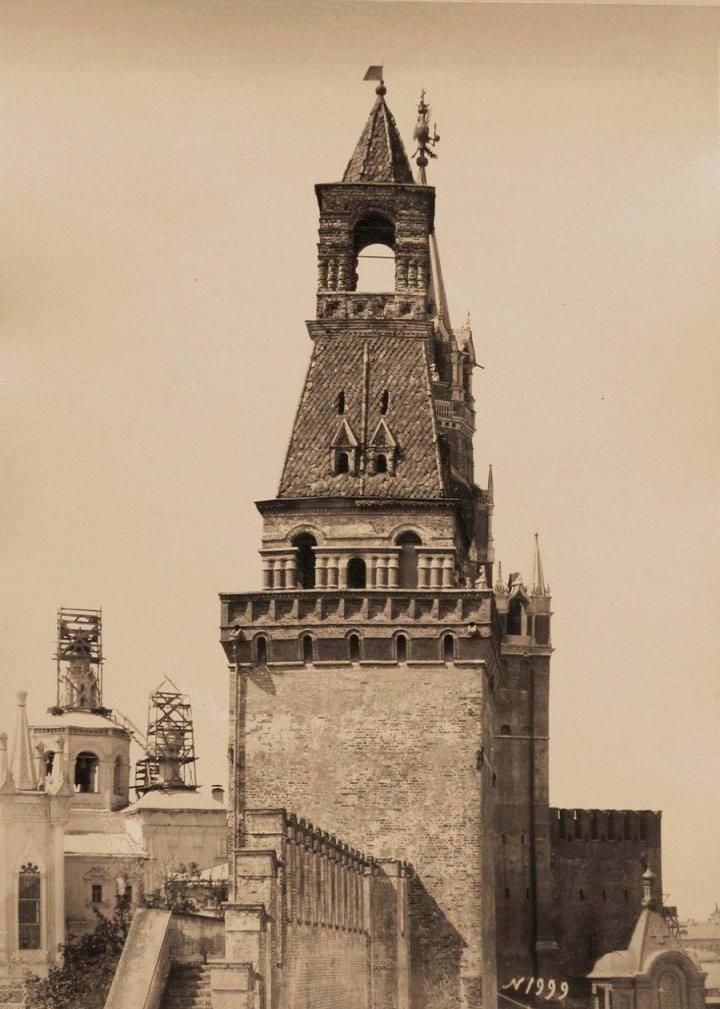 Москва. Кремль. Набатная башня