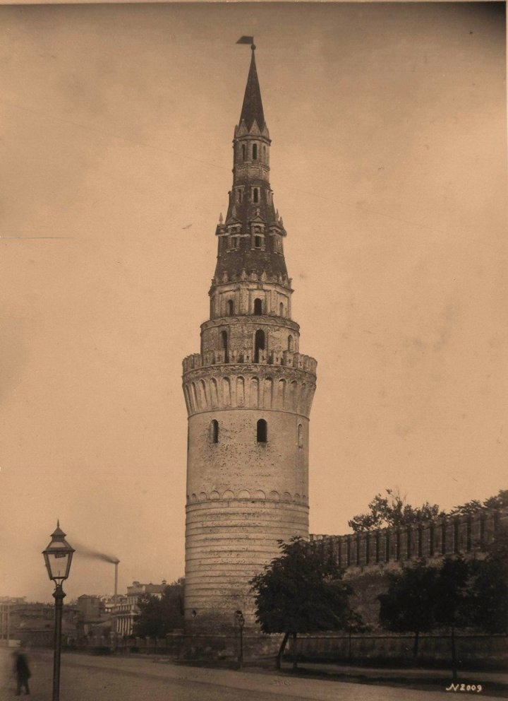 Москва. Кремль. Водовзводная башня