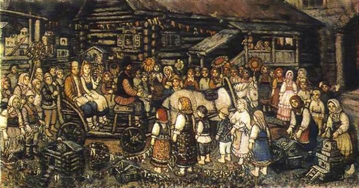 Художник Ефим Честняков