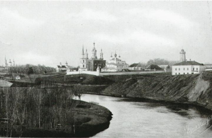 Дмитриевский мужской монастырь.