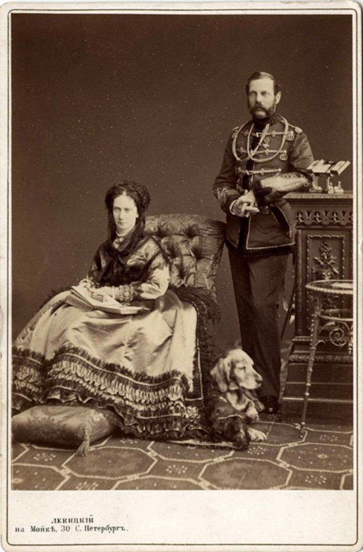 Император Александр II и императрица Мария Александровна.