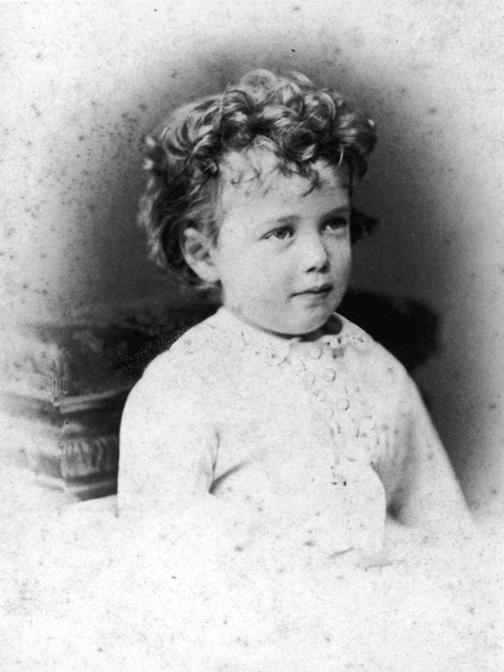 Николай II, 1870 г