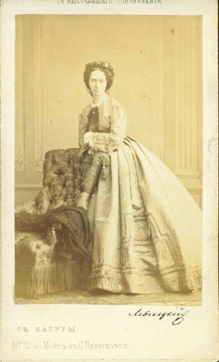 Императрица Мария Александровна. 1855 г