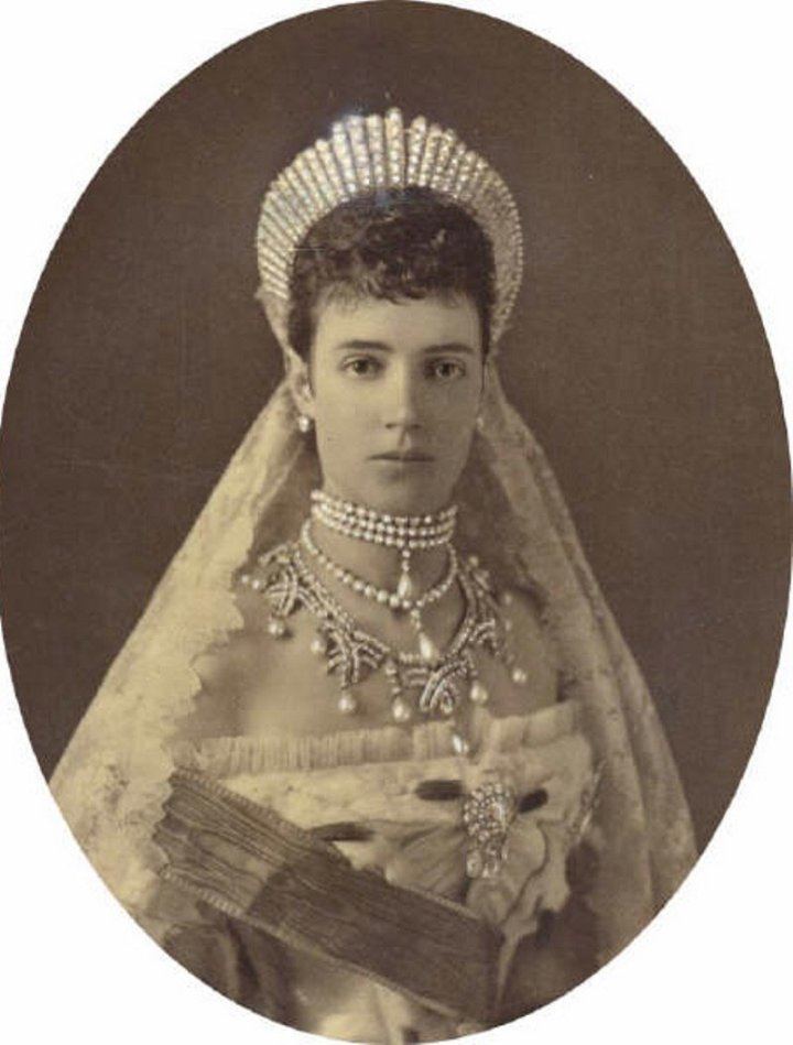 Портрет императрицы Марии Федоровны, 1881 г