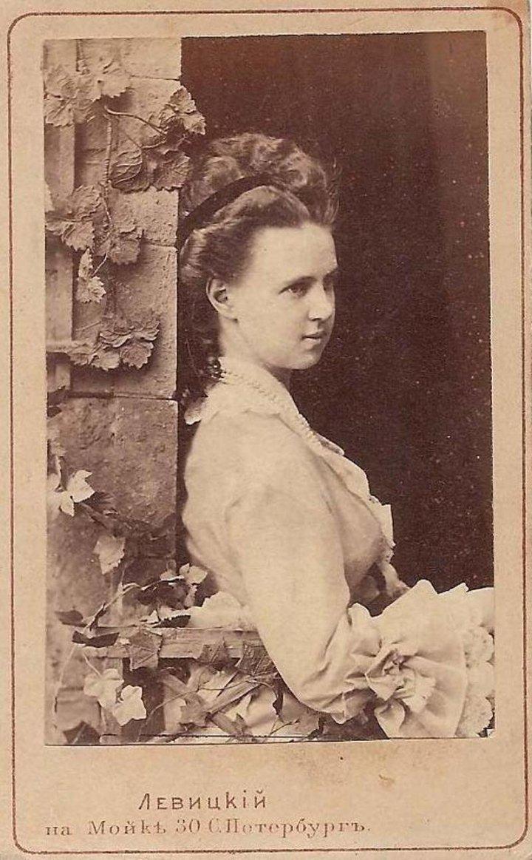 Великая княжна Мария Александровна, 1870 г