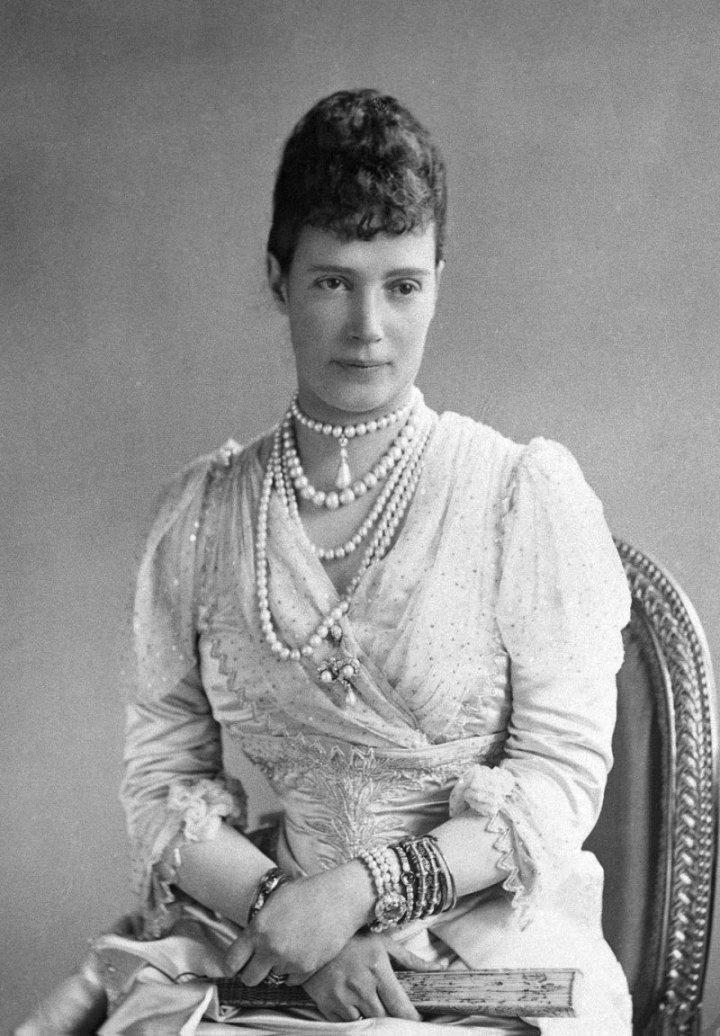 Императрица Мария Федоровна, около 1890
