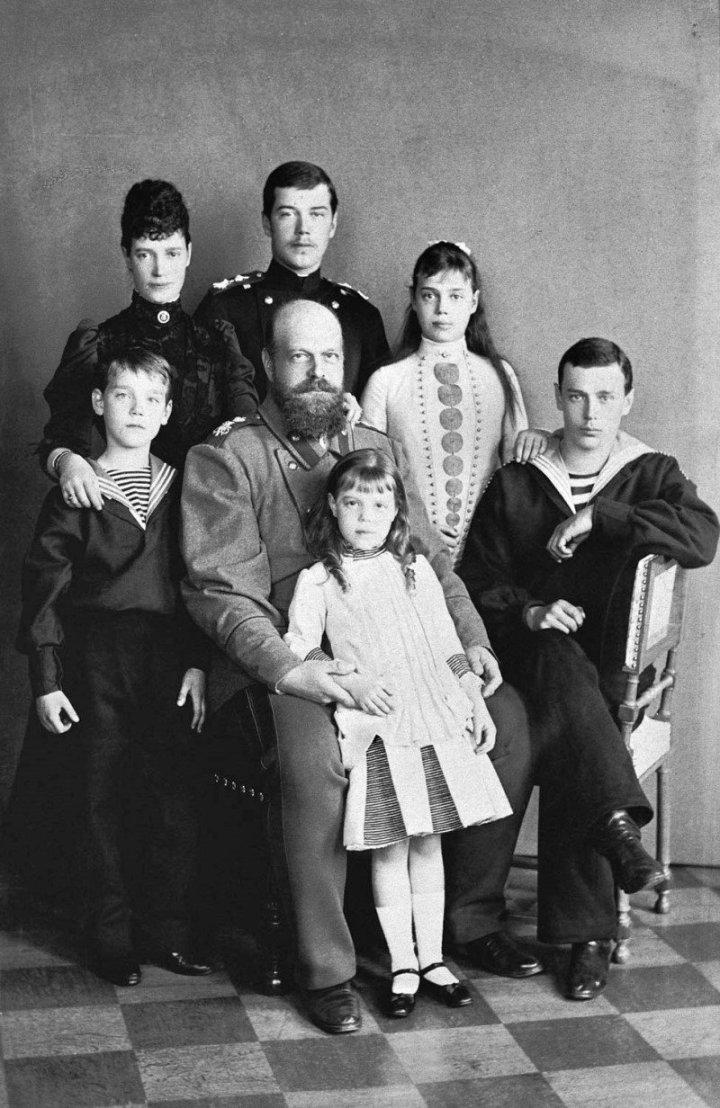 Семья императора Александра III. 1888 г