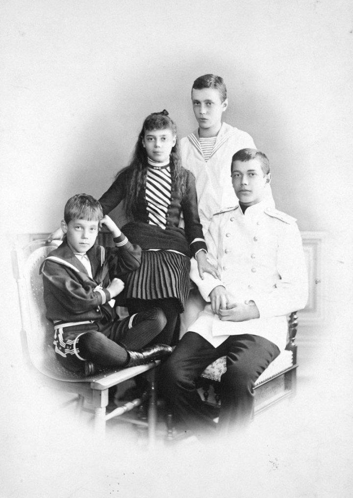 Дети Александра III.