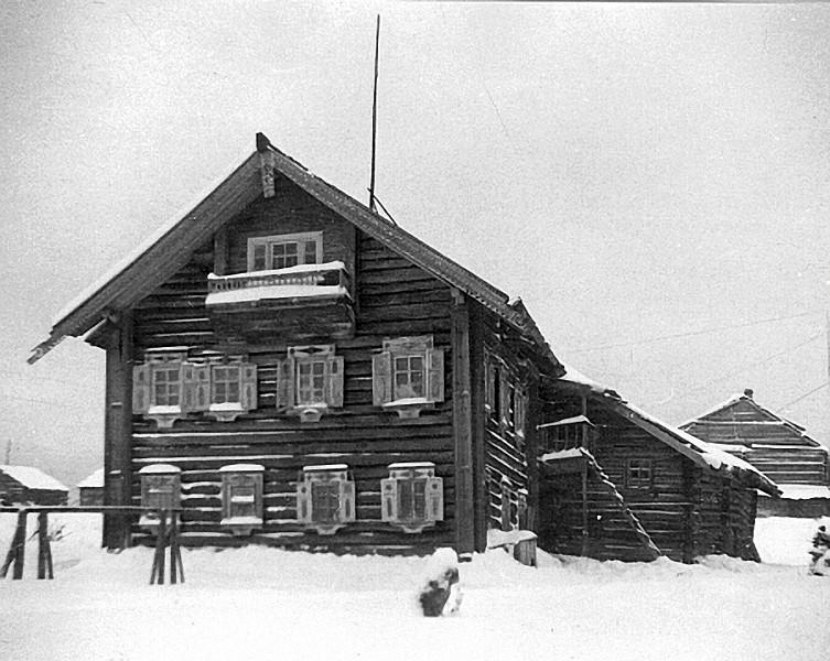 Дом И.М.Абрамова в д.Космозеро