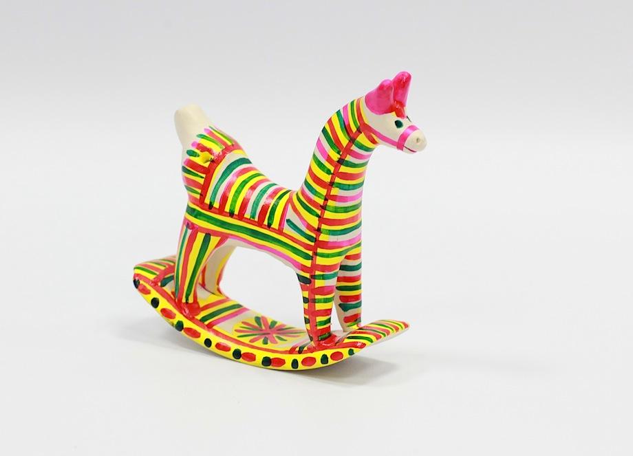 Конь. Филимоновская игрушка