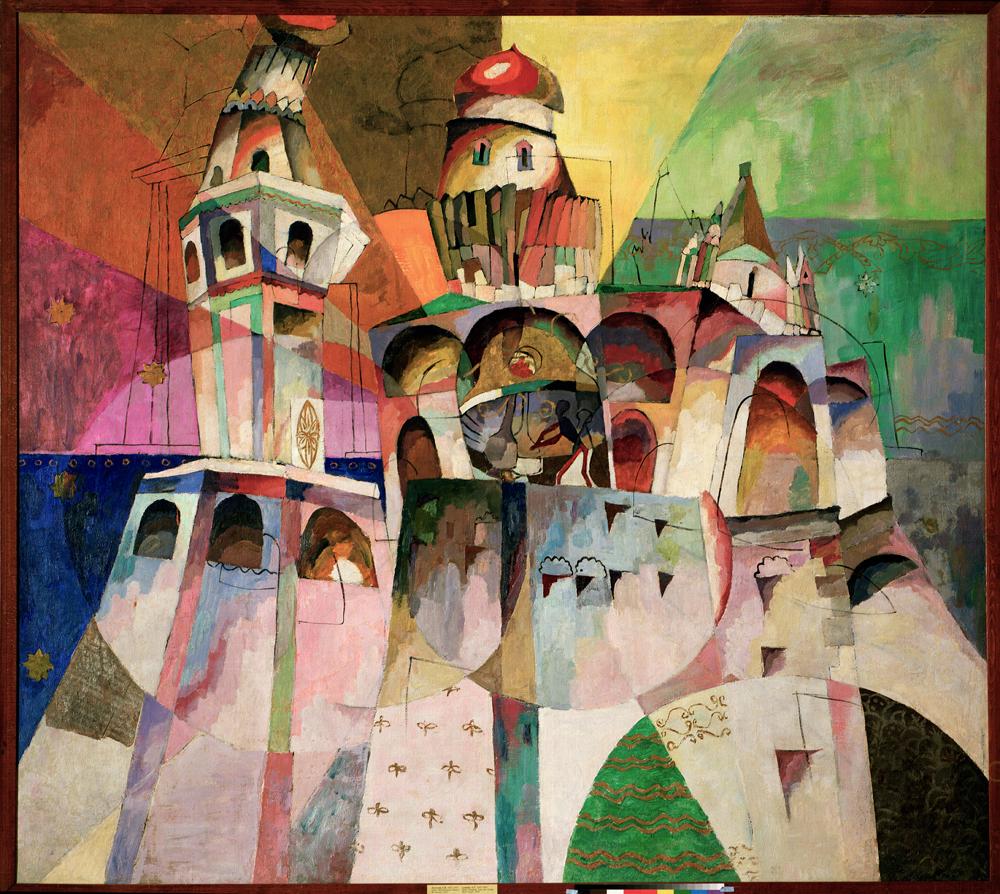 Аристарх Лентулов. Звон (Колокольня Ивана Великого). 1915