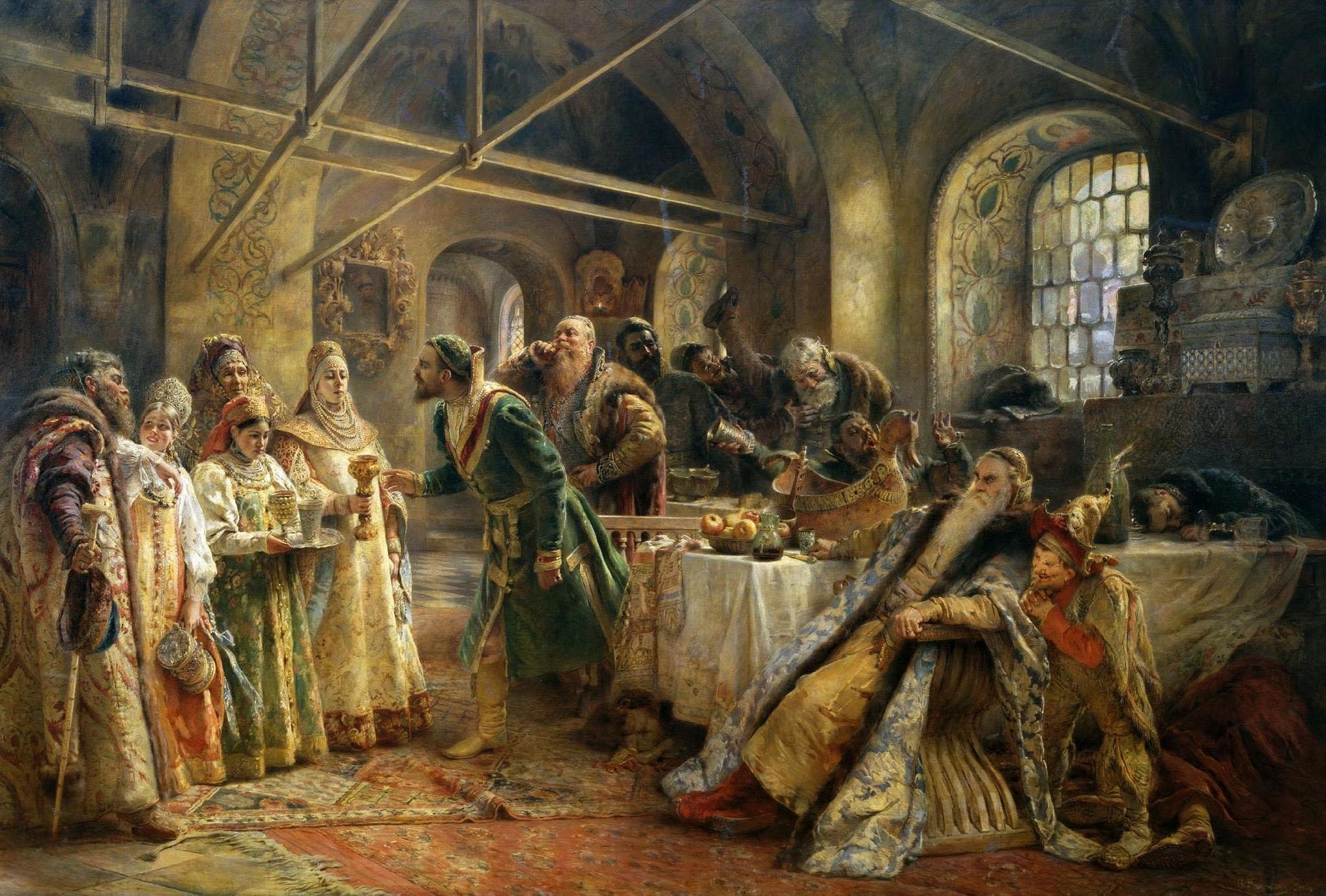 Русский раб под столом 1 фотография