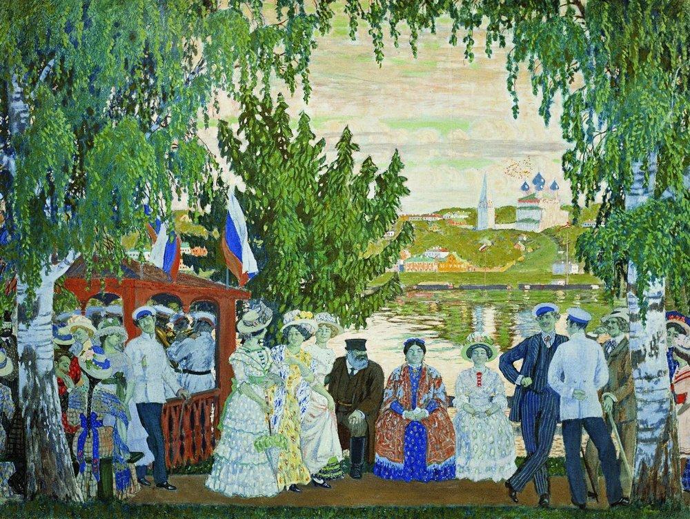 Как русский народ отмечал Пасхальную неделю (4 фото)