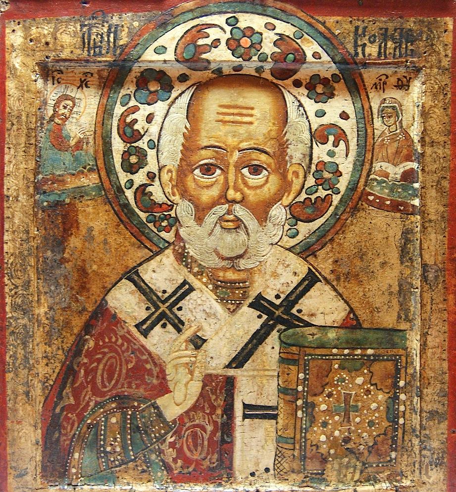 Николай Угодник один из самых почитаемых святых на Руси (2 фото)