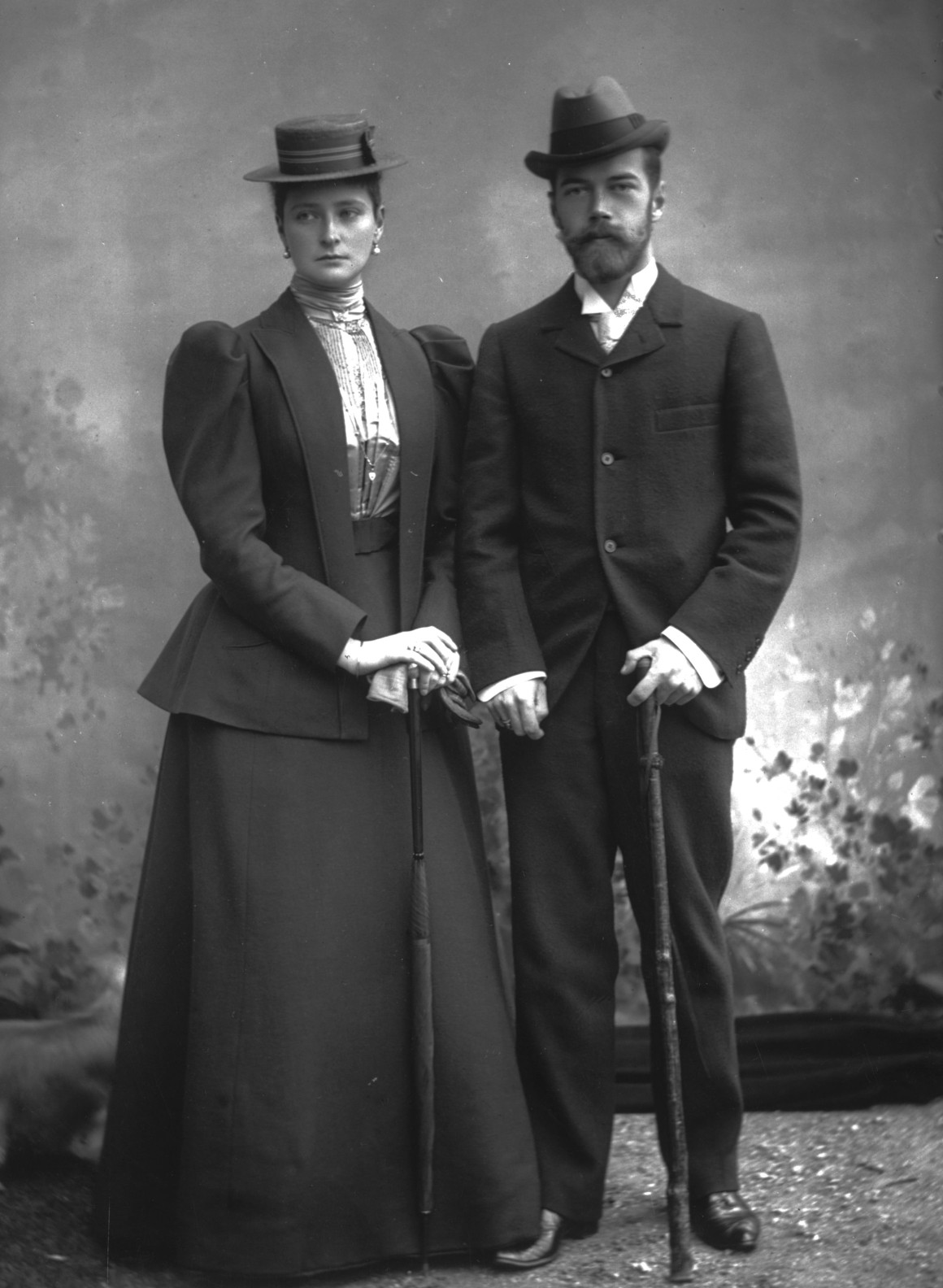 Tsar And Wife