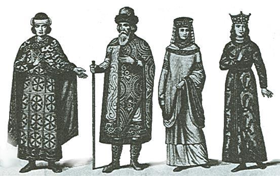 Во что одевались на Руси